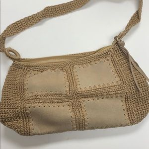 Handmade woven purse